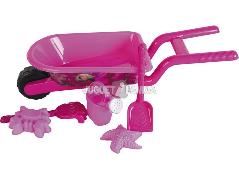 Carretilla 3D Flamingo Set 6 Piezas