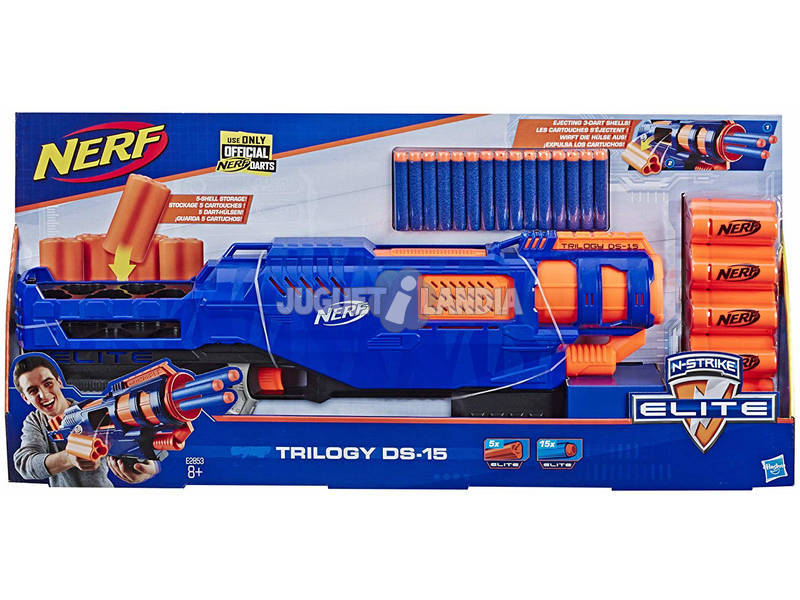 Nerf Elite Trilogy DS15 Hasbro E2853EU4
