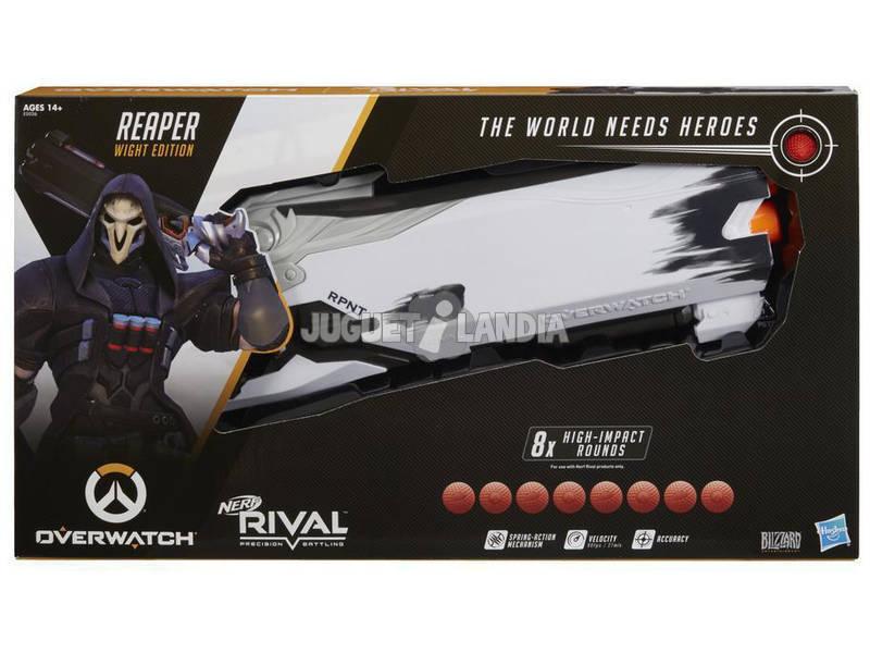 Nerf Rival Overwatch Reaper Edición Ánima Hasbro E5026