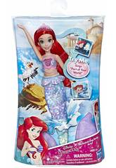 Muñeca Princesas Disney Ariel Música hasbro