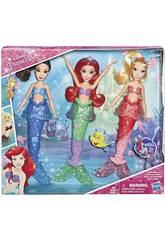 Princesas Disney Pack Ariel e Sorelle Hasbro E5052