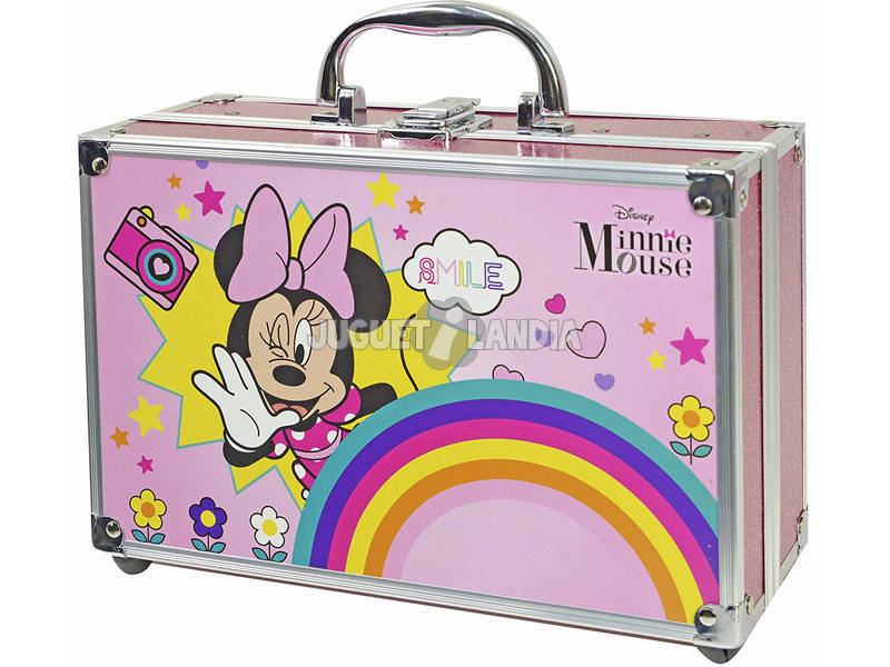Minnie Mouse Make Up Train Case Markwins 1599049E