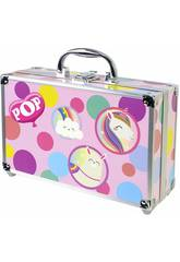 Pop Girl Color Train Set Markwins 1539021E