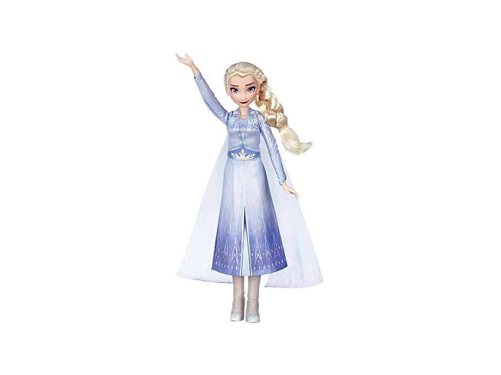 Frozen 2 Bambola Canterina Elsa Hasbro E6852TGO