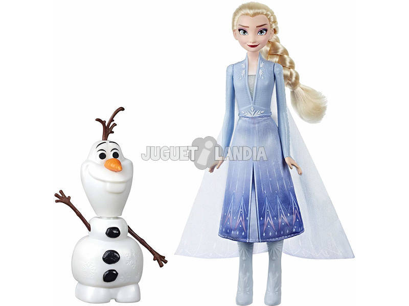 Frozen 2 Olaf & Elsa Hasbro E5508