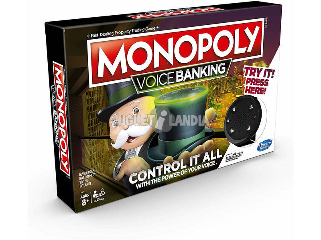 Monopoly Voice Banking Hasbro E4816