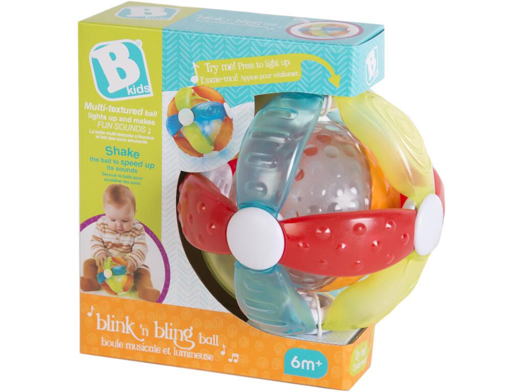 Bola Infantil Actividades 15 cm. con Luces y Sonidos