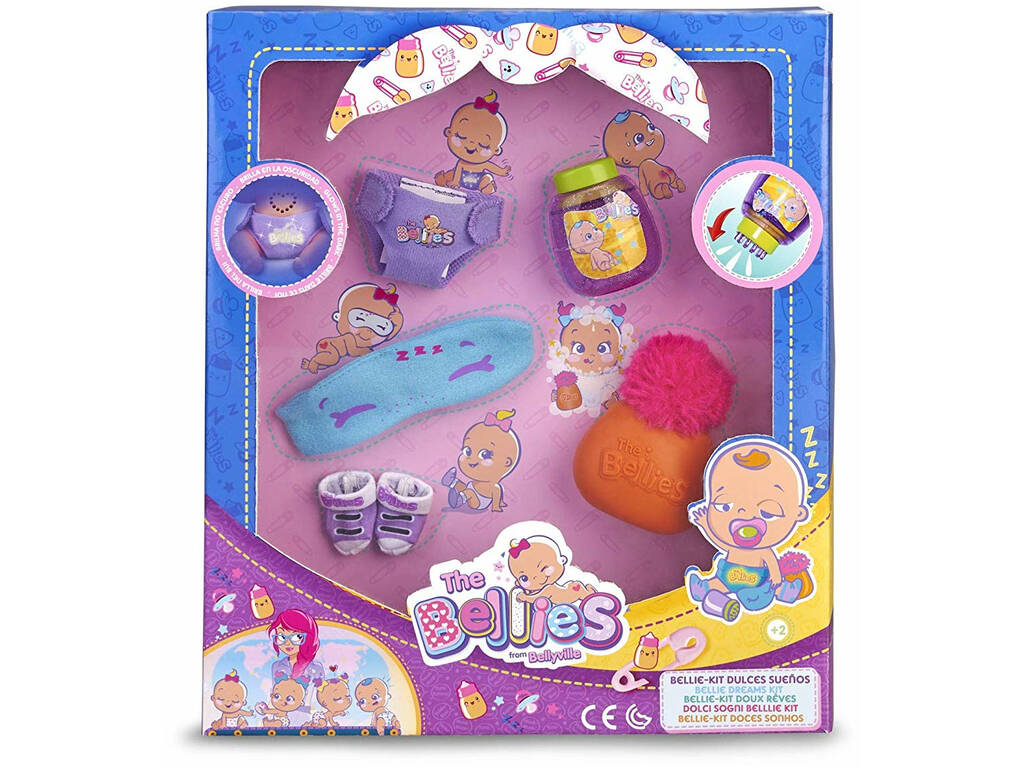The Bellies: Kit Dulces Sueños Famosa 700015141