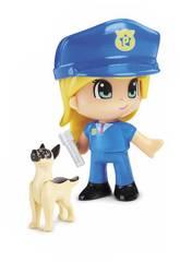 imagen Pinypon Action Figuras Emergencia Con Perro Famosa 700015151