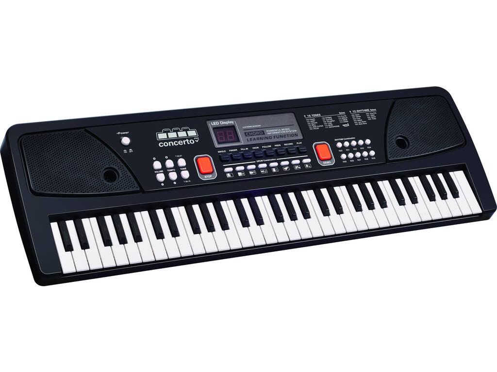 Organo 61 Tasti Con Microfono e Porta Usb Reig 8922