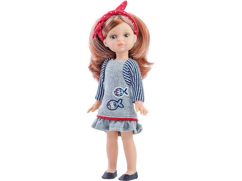 Bambola 21 cm. Paola Mini Amigas Paola Reina 2106