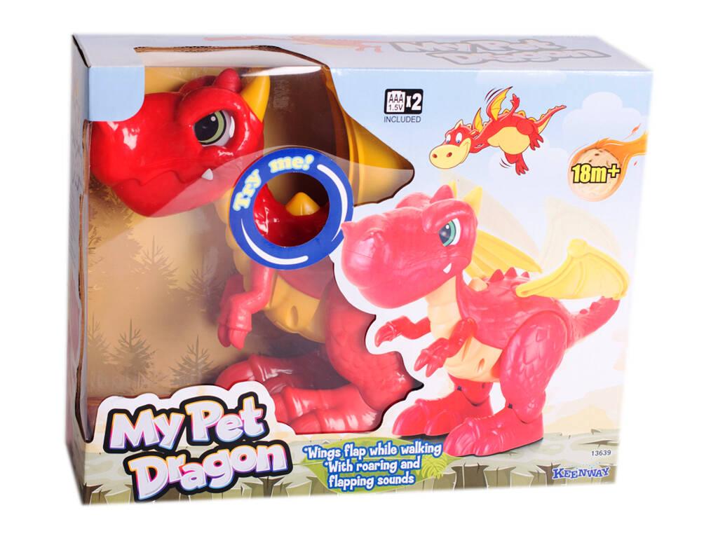 Dinosaurio Dragón Infantil con Sonidos Keenway 13639