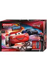 Circuit Cars Neon Nights 5,3 M. 2 Voitures Flash et Storm Stadlbauer 62477