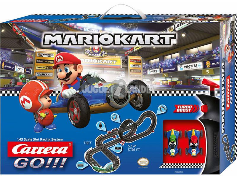 Circuito Nintendo Mario Kart 8 5,3 M. 2 Carros Mario e Luigi Stadlbauer 62492