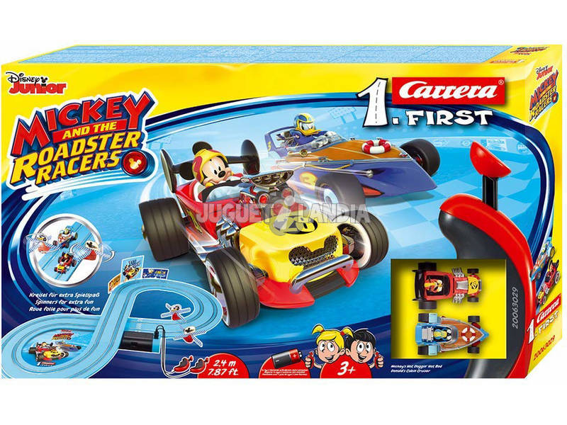 Mickey Roadster Racers Circuit Course First Stadlbauer 63029