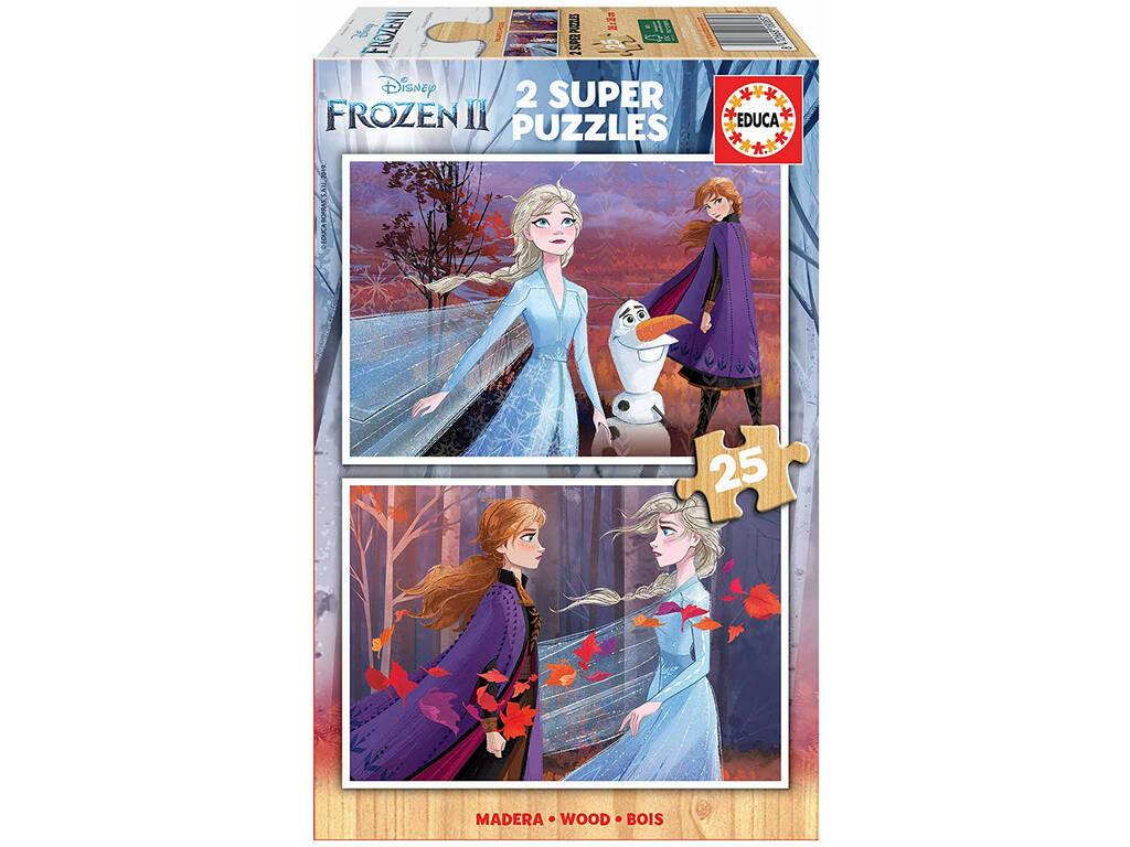 Puzzle 2x25 Frozen 2 Educa 18085