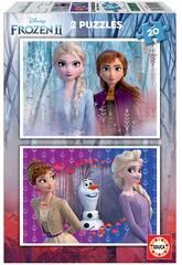 Puzzle 2x20 Frozen 2 Educa 18109