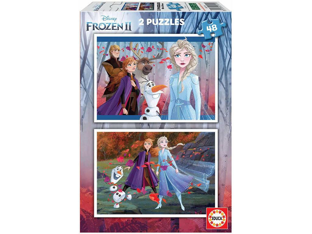 Puzzle 2x48 Frozen 2 Educa 18110
