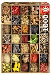 Puzzle 1.000 Especias del Mundo Educa 15524