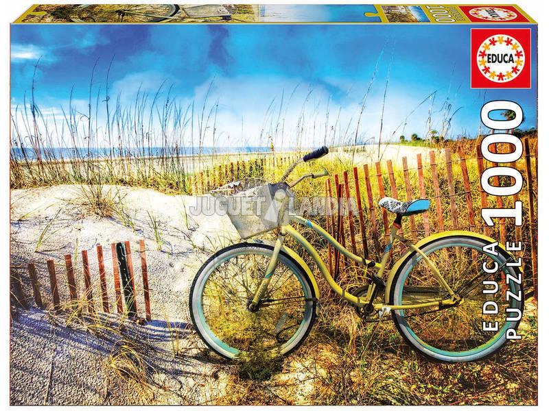 Puzzle 1000 Bicicletta nelle Dune Educa 17657
