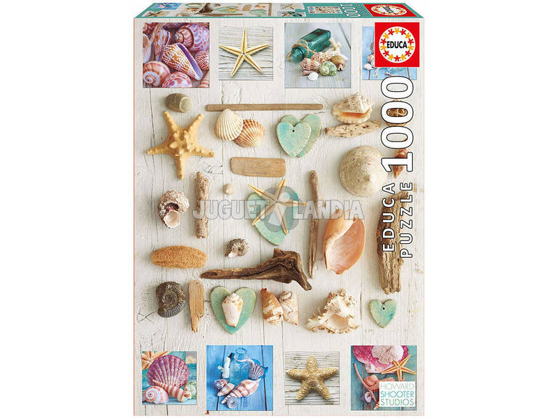 Puzzle 1.000 Collage De Caracóis Educa 17658