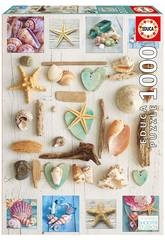Puzzle 1.000 Collage De Coquillages Educa 17658
