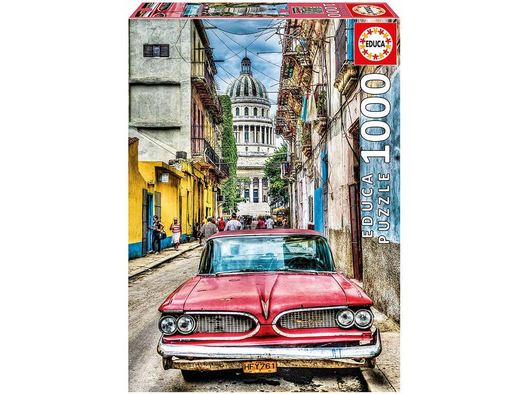 Puzzle 1.000 Auto Nella Habana Educa 16754