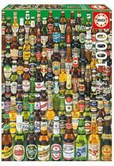 Puzzle 1.000 Cervejas do Mundo Educa 12736