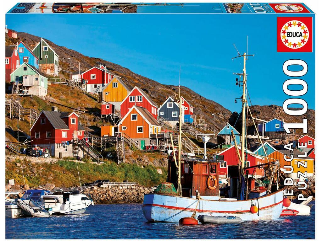 Puzzle 1.000 Maisons nordiques Educa 17745