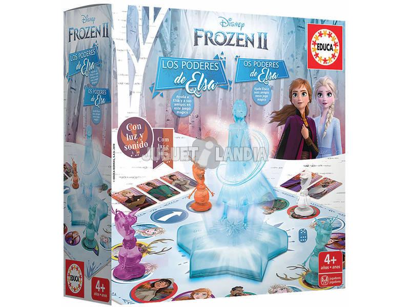 Juego de Mesa Frozen 2 Los Poderes De Elsa Educa 18239