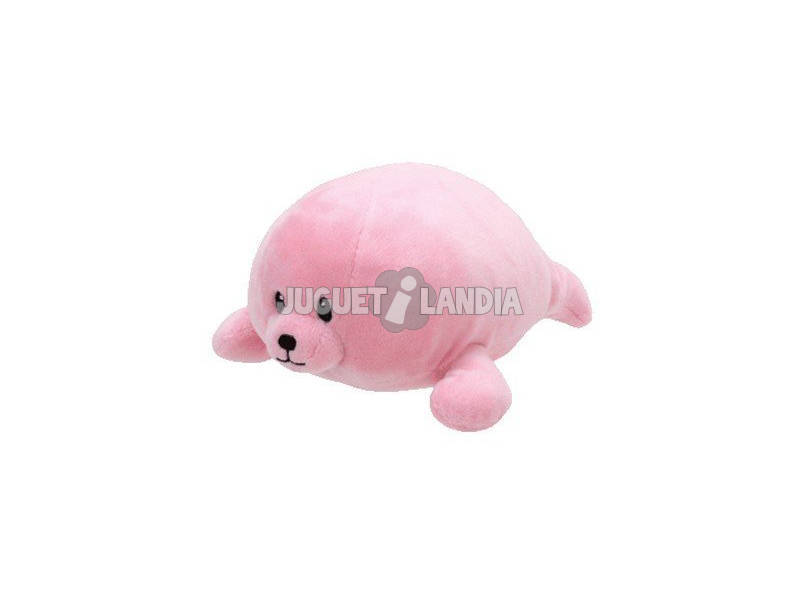 Peluche Pink Seal 15 cm. Doodles TY 32159TY