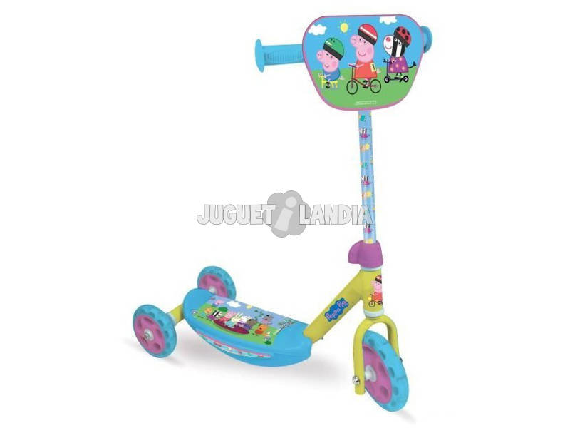 Peppa Pig Scooter 3 Ruote D'Arpèje OPEP110
