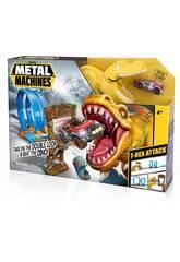 Metal Machines T-Rex Attack avec Voiture en Métal Zuru 11005213