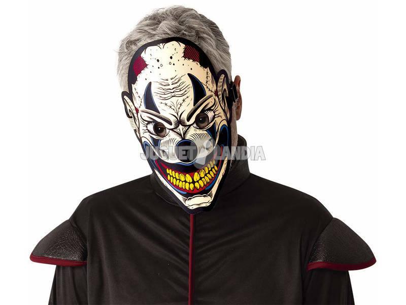 Maschera Pagliaccio Luminoso con il suono Rubies S5162