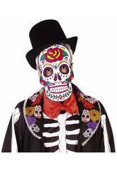 imagen Máscara Sugar Skull Rubies S5163