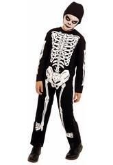 Déguisement Enfant Squelette Taille S Rubies S8516-S