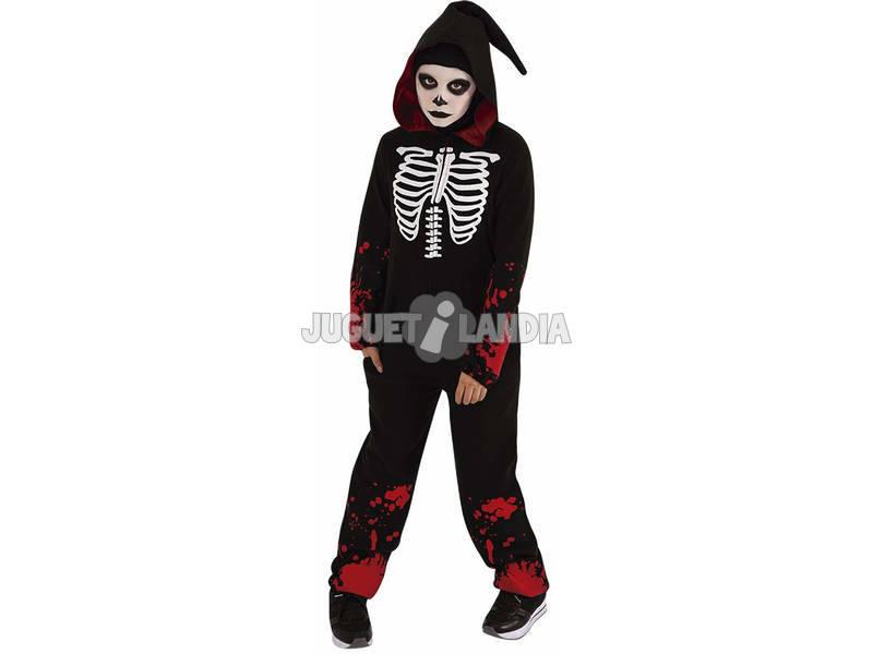 Disfarce Criança Bloody Skeleton Tamanho M Rubies S8530-M