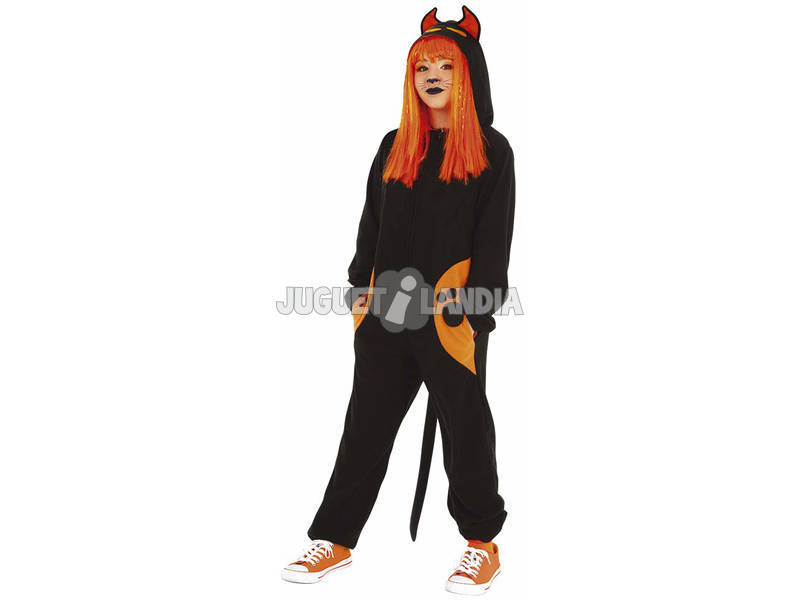 Disfarce Criança Black Cat Tamanho L Rubies S8531-L