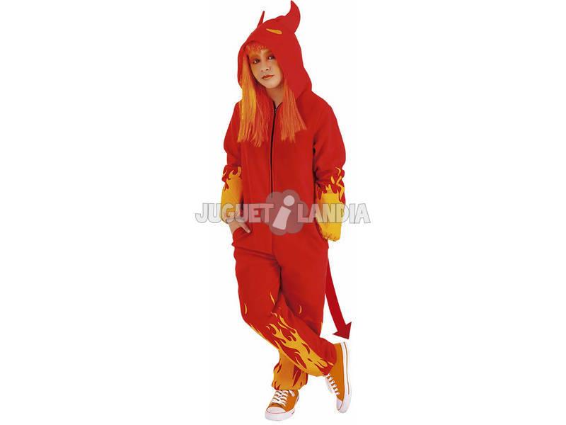 Déguisement Enfant Diable Taille S Rubies S8533-S