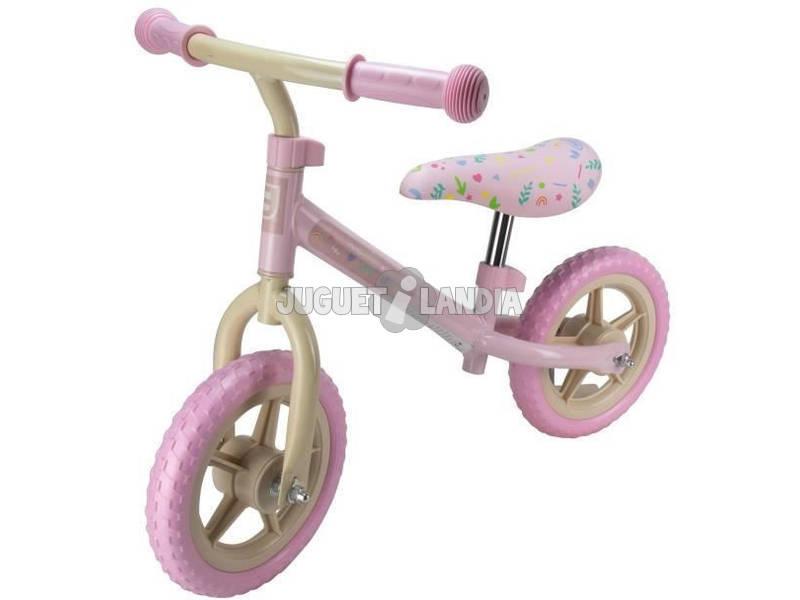Bici d'equilibrio Rosa 10 Ruota Eva