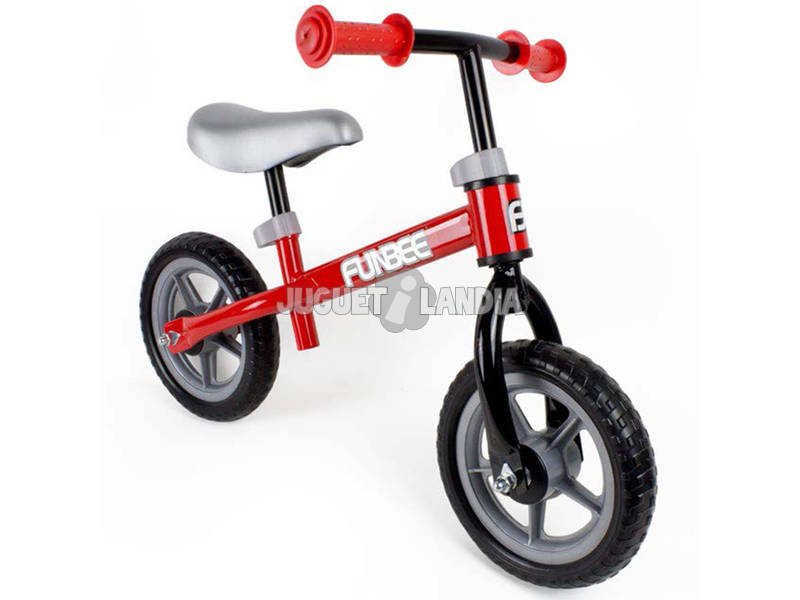 Bicicleta Correpasillos Funbee Roja 10 Rueda Eva D'Arpèje OFUN84