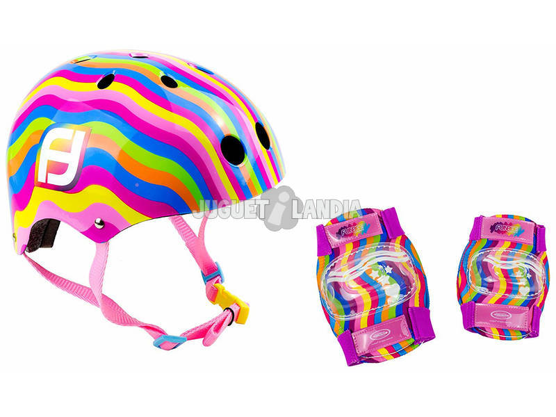 Casque Bol y Kit De Protections Funbee Colors D'Arpèje OFUN318-C