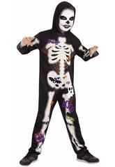Déguisement Enfant Squelette Taille L Rubies S8537-L