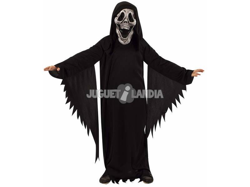Disfarce Crianças Fantasma Skull Tamanho Tween Rubies S8560-TW