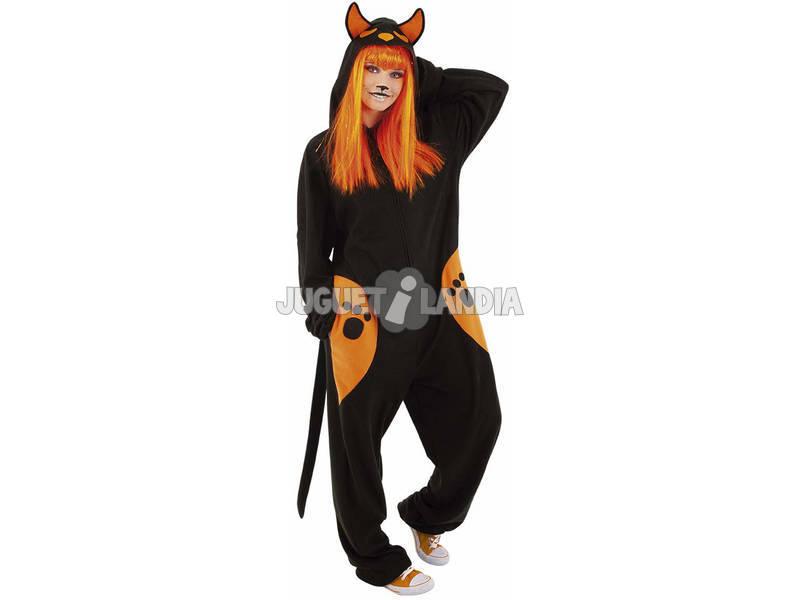 Disfraz Adulto Kirugurumi Black Cat Rubies S8452