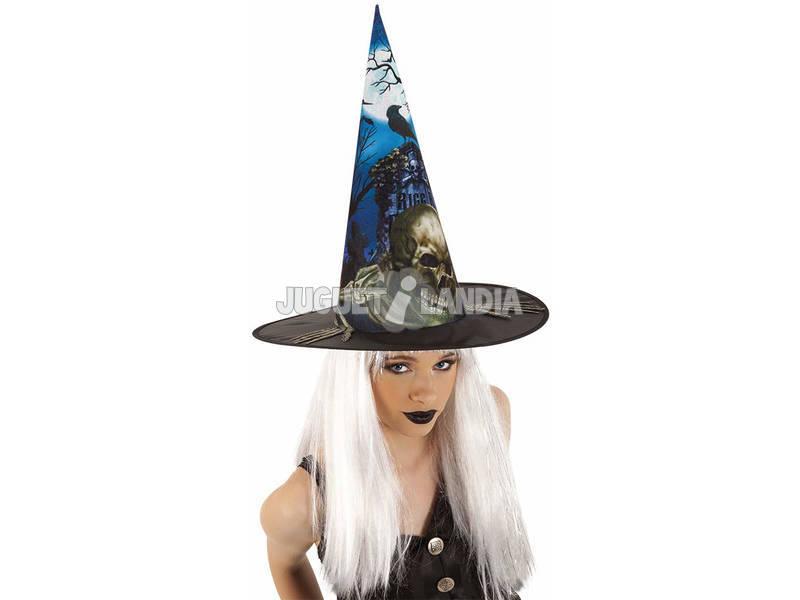 Sombrero de Bruja Cementerio Rubies S9018