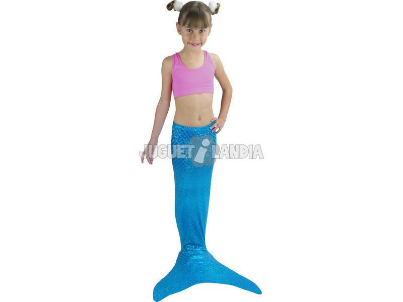 Cola De Sirena Azul 6 - 10 Años Saica 3903