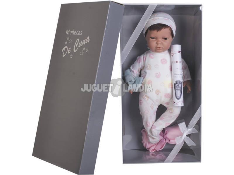 Poupée Reborn Leire 45 cm. Petit Pyjama Joluca 45112-CA
