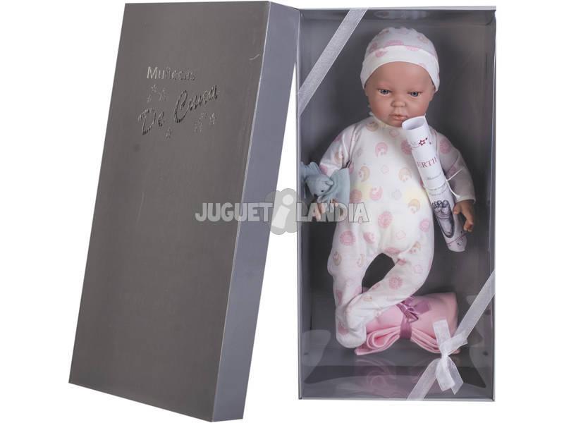 Bambola Reborn Leire 45 cm. Pigiamino Calva Joluca 45112-PA