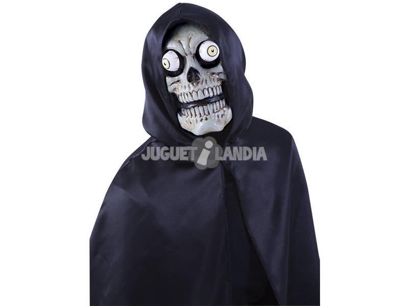 Máscara Skull con Ojos Móviles Rubies S5131